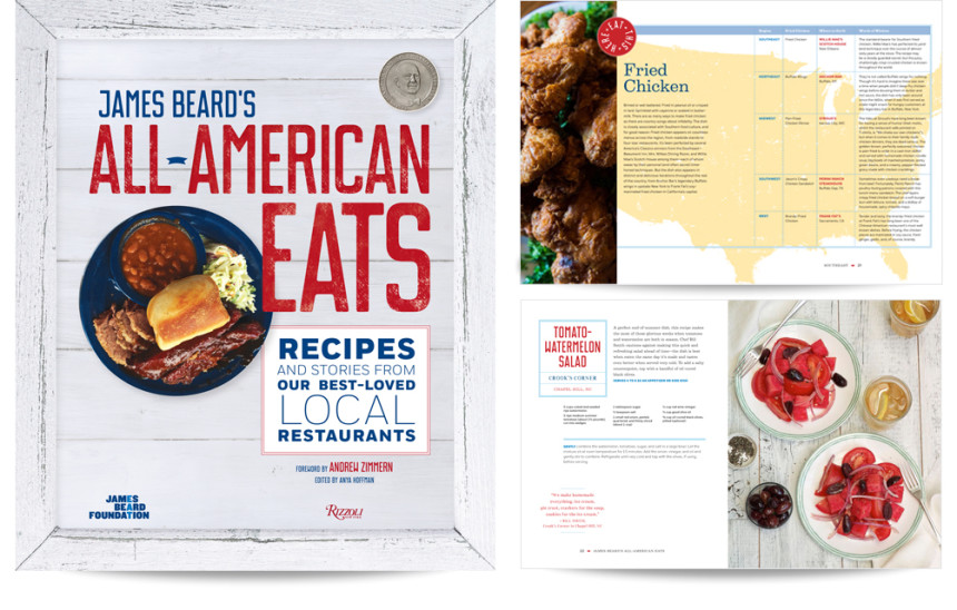 All American Eats by The James Bear Foundation / Rizzoli