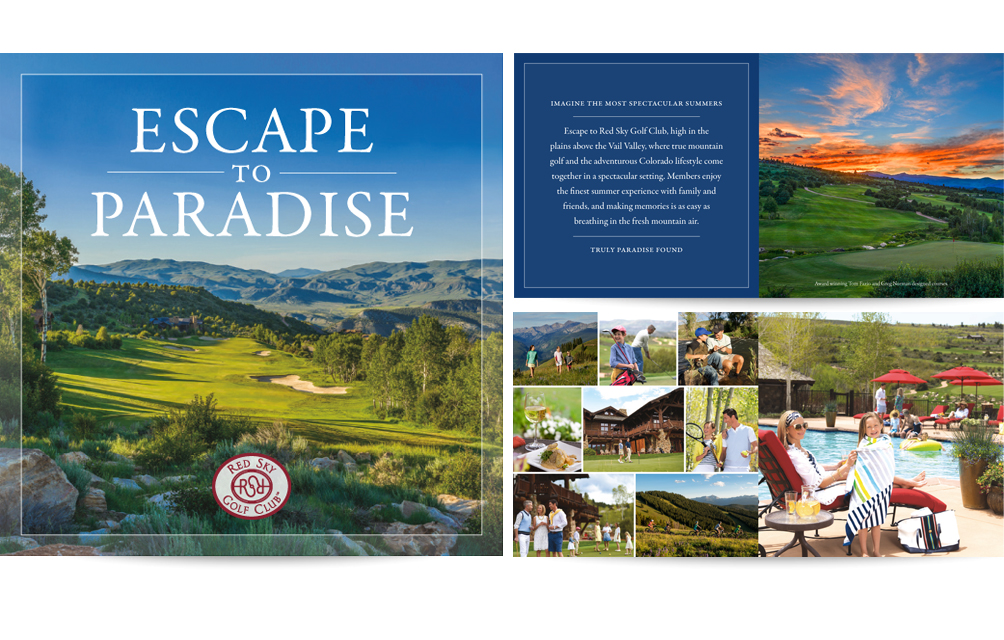 Red Sky Golf Club brochure